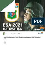 ESA 2021 MATEMATICA papiro brabo