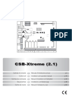 Instruction CSB-Xtreme r2.1 006 035755-A