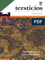 Intersticios 54. Hermenéutica e interculturalidad