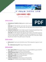 10 - Lich Nhac Viec (21.03.2011 - 27.03.2011) - updated 20.03