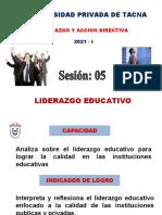 PPT - LIDERAZGO EDUCATIVO