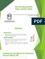 METODO DE EVALUACIÓN POSTURAL RAPIDO (EPR)