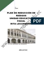 Plan de Reduccion de Riesgos 2017