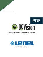 goVision Video AutoBackup User Guide_ENU