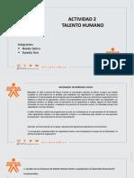 DIAPOSITIVAS TALENTO HUMANO