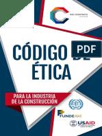 CODIGO DE ETICA PARA LA INDUSTRIA DE LA CONSTRUCCION 2015