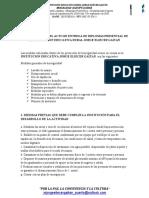 PROTOCOLO PARA EL ACTO DE ENTREGA DE DIPLOMAS PRESENCIAL DE LA INSTITUCION EDUCATIVA RURAL JORGE ELIECER GAITAN