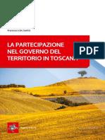 La Partecipazione Nel Governo Del Territorio in Toscana