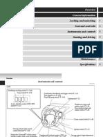 User Manual - Mitsubishi Outlander [2007=>] [EN]