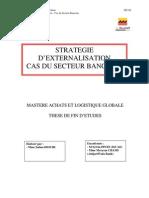 Stratégie d'externalisation cas du secteur bancaire - AWB