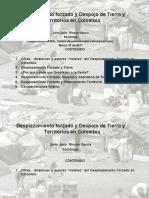 Desplazamiento Forzado, Tierra y Territorio en Colombia 1997 - 2011