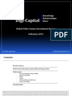DigiCapital Global Video Games Investment Review