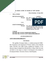 Devangana Kalita bail order
