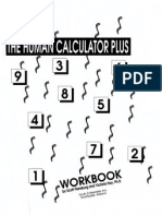 Self Help - The Human Calculator Plus - Workbooks 1-2 - (Scott Flansburg, Victoria Hay) Youth Enterprises 1992