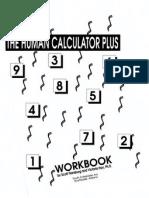Self Help - The Human Calculator Plus - Workbooks 1-2 - (Scott Flansburg, Victoria Hay) Youth Enterprises 1992
