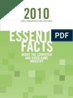 ESA Essential Gaming Facts 2010