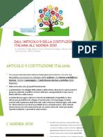 DIRITTO - ART.9 e AGENDA 2030