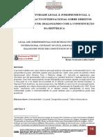 Irretroatividade Legal e Jurisprudencial - Ufpe