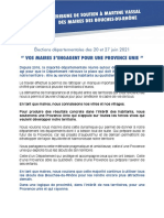 Tribune des maires Martine Vassal