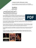 Apreciação Musical para a inserção de música clássica para os alunos