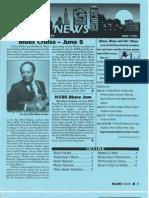 Blues News - May 1991