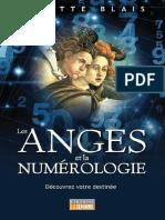 Les Anges Et La Numérologie by Ginette Blais [Blais, Ginette] (Z-lib.org)