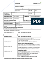 090501 Budget Pack Application Form