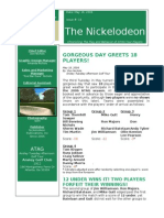 Nickelodeon Newsletter 2006-05-16