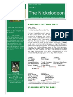 Nickelodeon Newsletter 2006-06-06