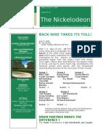 Nickelodeon Newsletter 2006-06-27