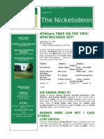 Nickelodeon Newsletter 2006-09-19