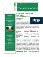 Nickelodeon Newsletter 2006-09-26