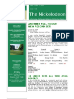 Nickelodeon Newsletter 2006-10-10