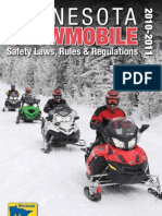 2010-2011 snowmobile regulations