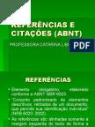 REFERÊNCIAS E  CITAÇÕES (ABNT)