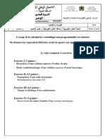 Examen National Physique Chimie Spc 2019 Normale Sujet 2 (1)