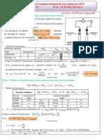 Examen National Physique Chimie Spc 2019 Normale Corrige 3