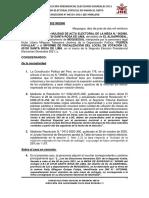 Moquegua - JEE rechaza solicitud de nulidad de Fuerza Popular