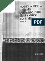 Método Flauta Dulce Contralto Tomo II