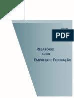 Relatório sobre Emprego e Formação – 2018