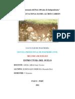 Estructura Del Suelo - Surichaqui Orihuela Kennyth Dick
