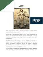 LA HISTORIA DE LILITH