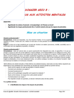 SECU 8- ACTIVITES MENTALES