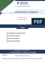 Introduction à La Mécanique