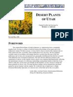 Desert Plants of Utah