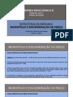 1.1.Monopólio e Discriminação de Preço