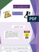 EXPOSICIÓN DE RIESGOS QUÍMICOS