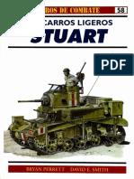 Osprey Carros de Combate 58 Stuart