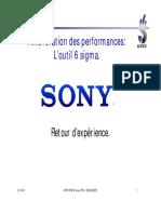 6sigma SONY