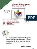 Curso Gestion Del Conocimiento y Proyectos Colaborativos